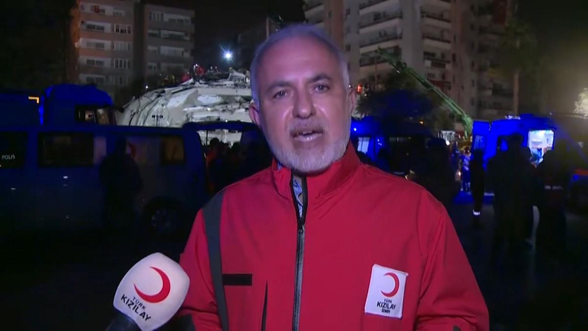 Türk Kızılay Başkanı Kerem Kınık, deprem sonrası İzmir'de yapılan çalışmaları anlattı