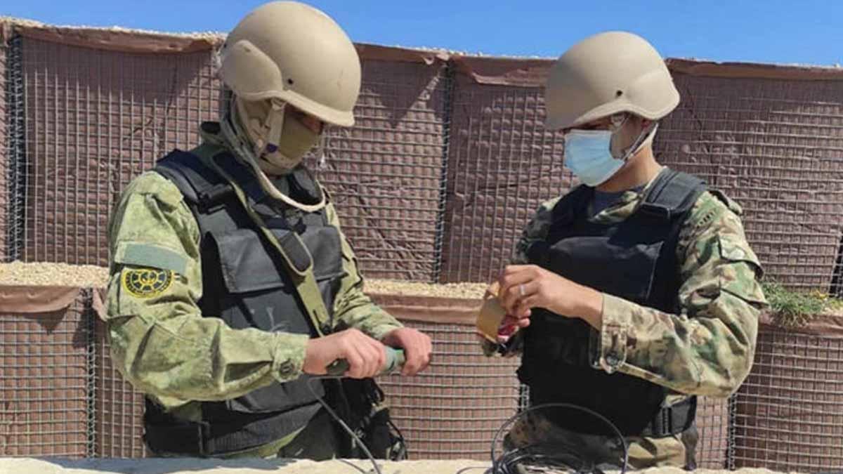 MSB duyurdu! TSK'dan Libya personeline savunma eğitimi!