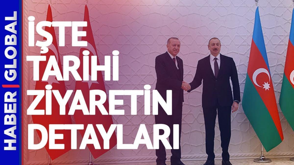 Erdoğan ile Aliyev'in tarihi görüşmesi