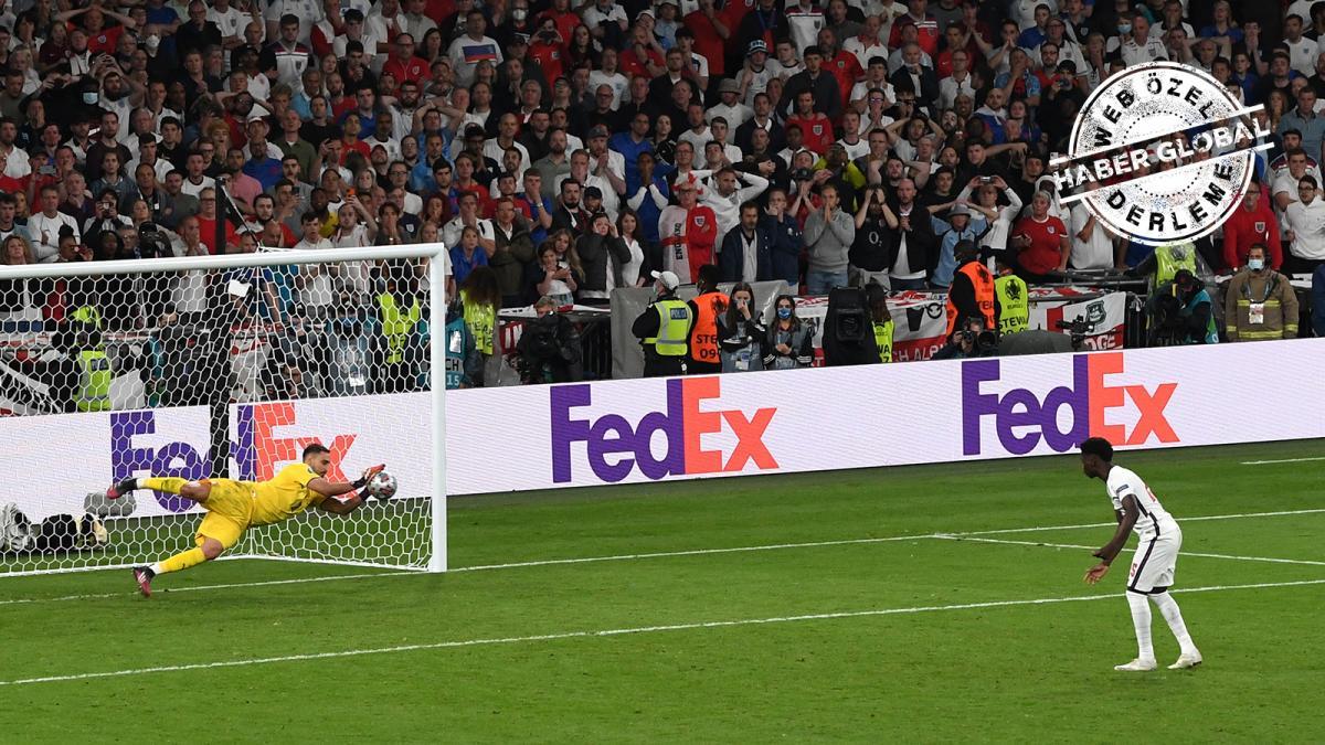 Ne oldu da İngiltere'de son penaltı Saka'ya kaldı?