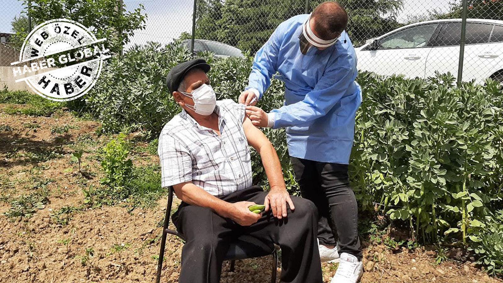 '400 ev dolaştılar 15 kişi aşı oldu'