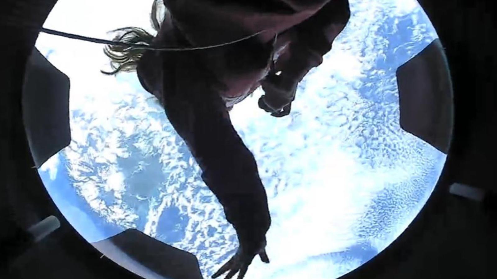 Uzay turistlerinden ilk fotoğraf geldi
