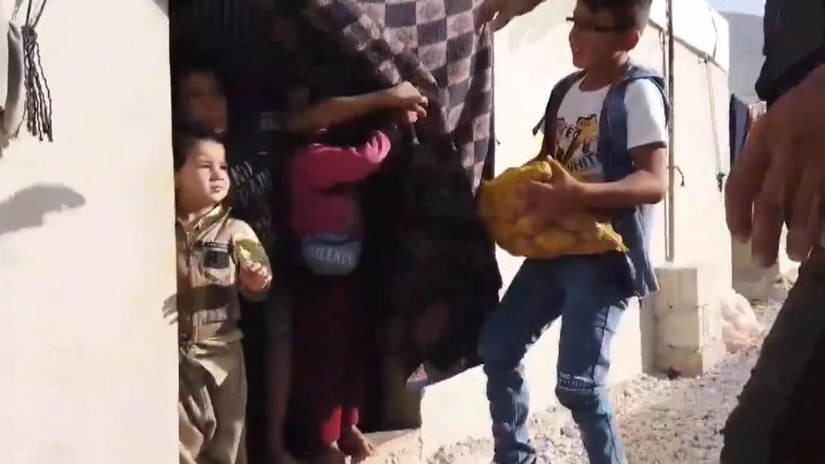 Günde kazandığı 3 TL ile ailesine bakan Hüseyin'e yardım eli uzandı