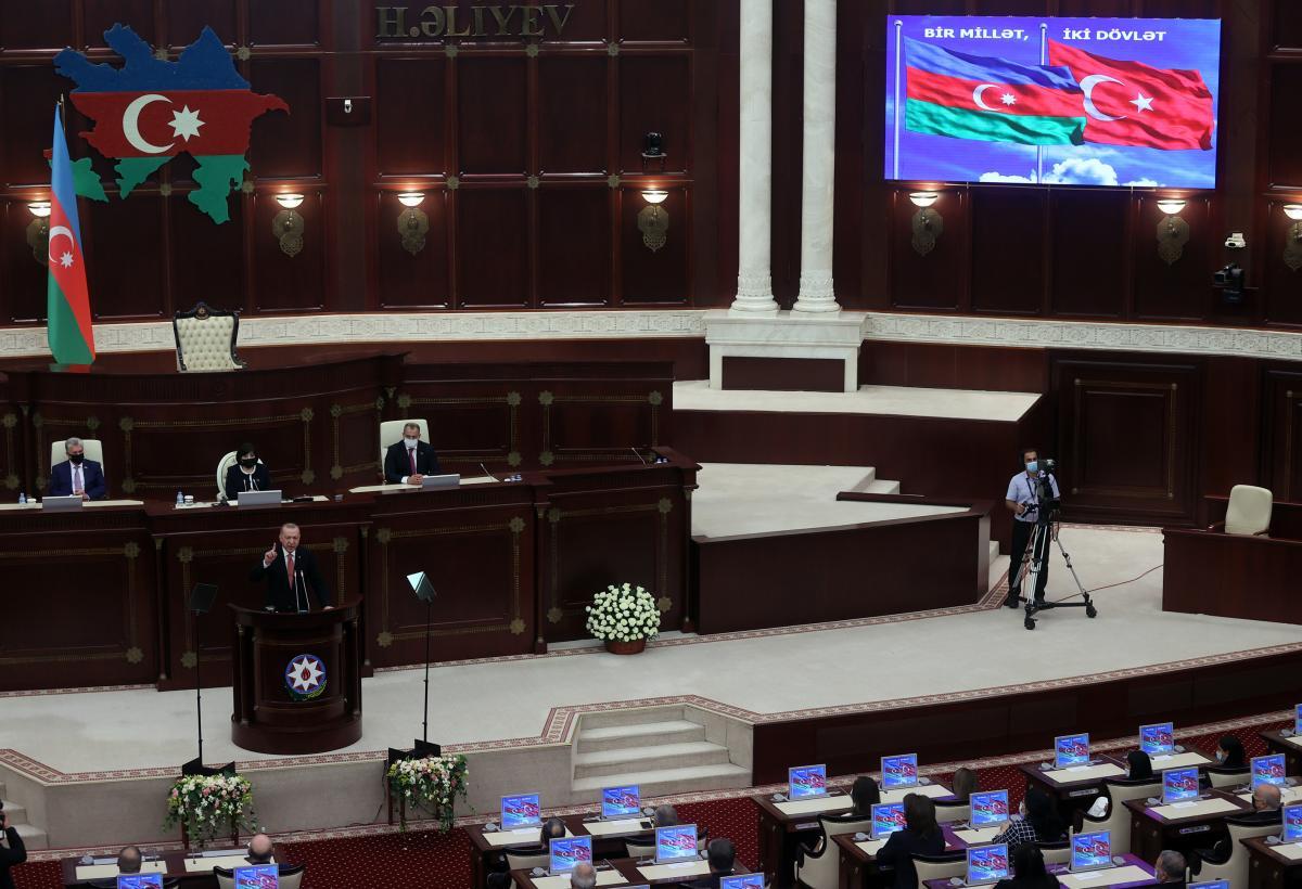 Son dakika | Cumhurbaşkanı Erdoğan: Dünya bilsin ki, yarın da Azerbaycan'ın  yanında yer alacağız