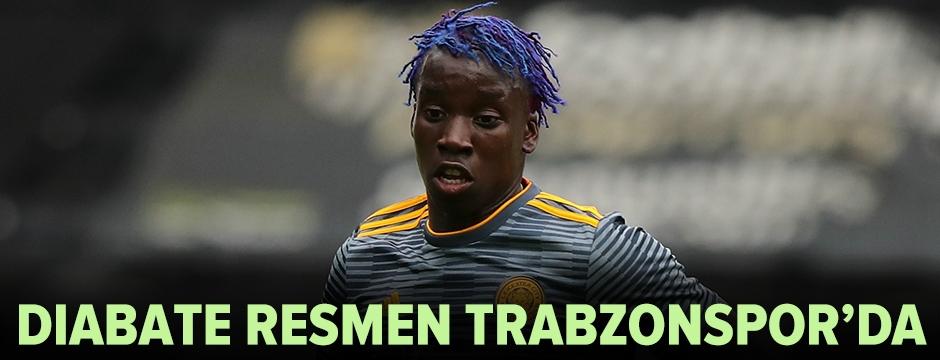 Diabate resmen Trabzonspor'da