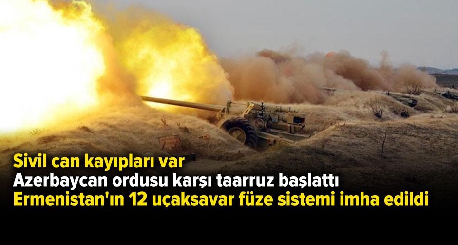 Ermenistan yine saldırdı! Azerbaycan'dan sert yanıt