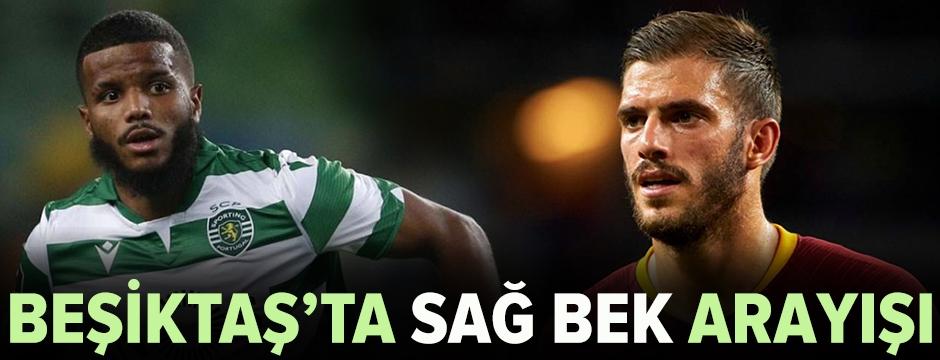 Beşiktaş'ta sağ bek transferi çalışmaları sürüyor