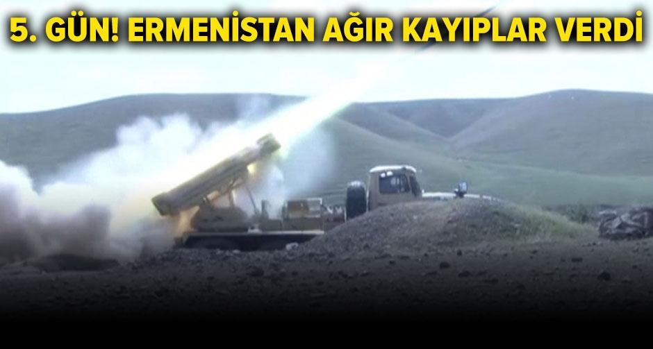 Azerbaycan-Ermenistan arasındaki çatışmalar devam ediyor