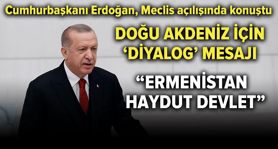 Erdoğan: Çözüm, işgalci Ermenistan'ın çekilmesinden geçer