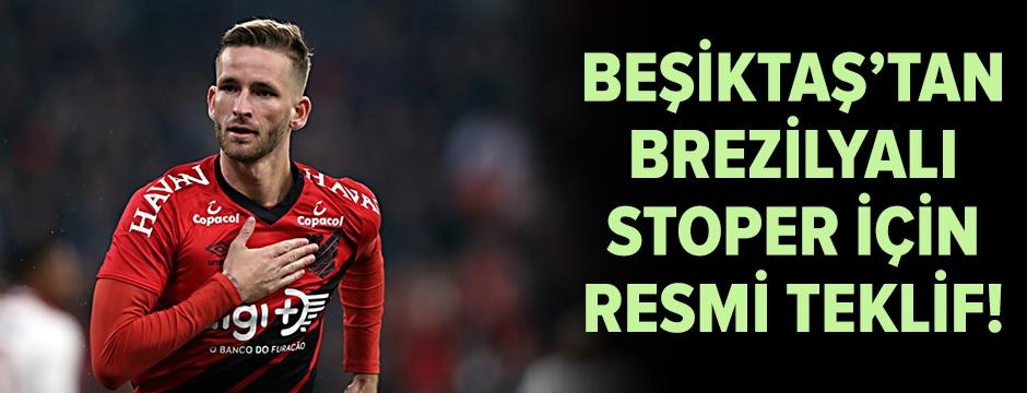 Beşiktaş'tan Brezilyalı stoper için resmi teklif