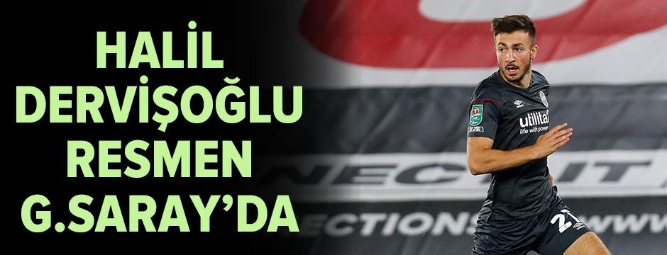 Halil Dervişoğlu, Galatasaray'da