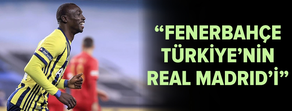 Cisse, Fenerbahçe'yi Real Madrid'e benzetti