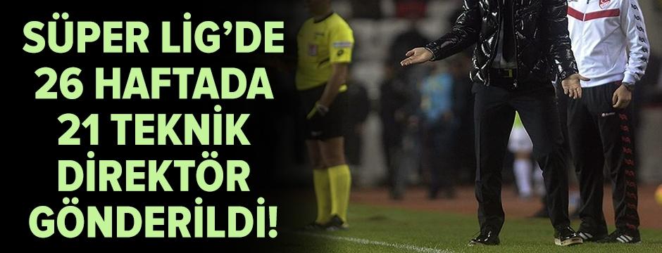 Süper Lig'de teknik direktör sirkülasyonu tam gaz devam!