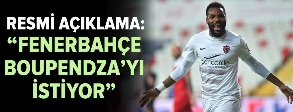 Fenerbahçe'den Boupendza için teklif!