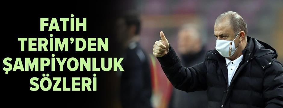 Fatih Terim, Erzurumspor galibiyetini değerlendirdi