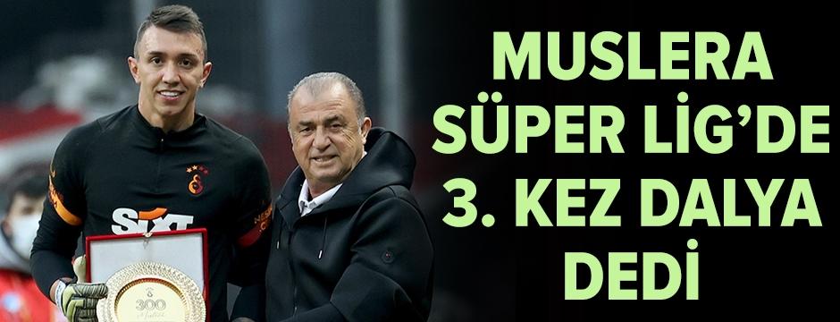 Muslera, Süper Lig'de 3. kez dalya dedi