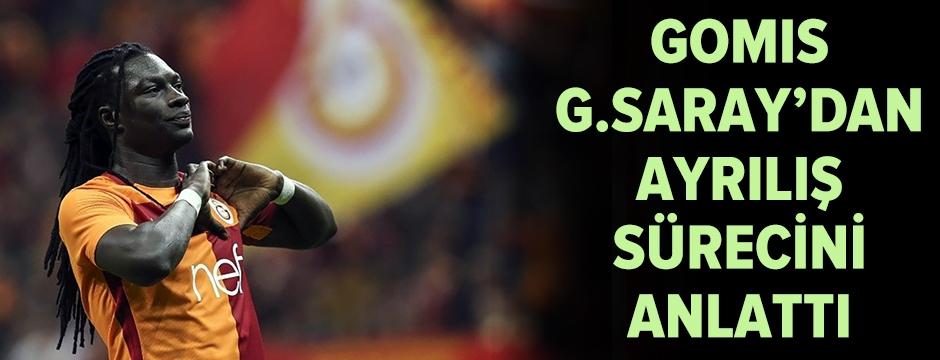 Gomis, Galatasaray'dan ayrılış sürecini anlattı