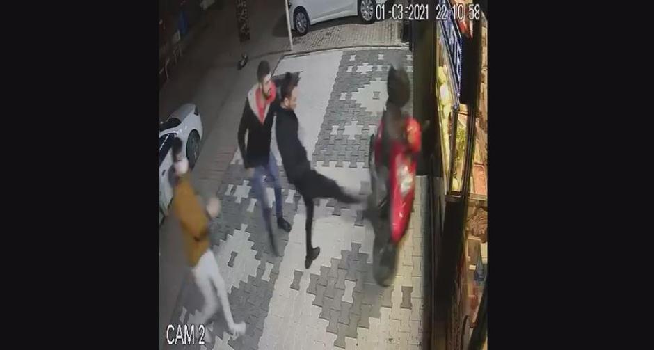 'Acılı çiğ köfte dayağı' olayının yaşandığı dükkana saldırı!