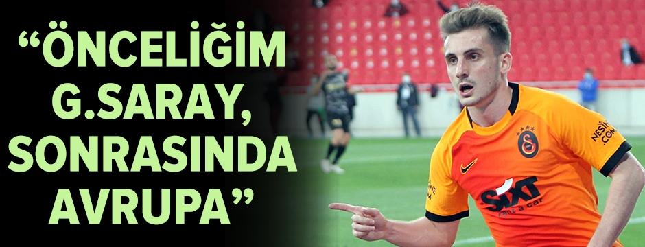 """""""Önceliğim Galatasaray'da şampiyonluklar yaşamak"""""""