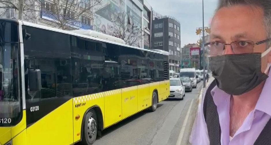 'Psikolojim bozuldu' dedi, otobüsü yol ortasında bıraktı