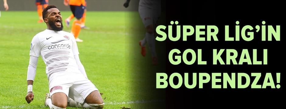 Süper Lig'in gol kralı Boupendza!