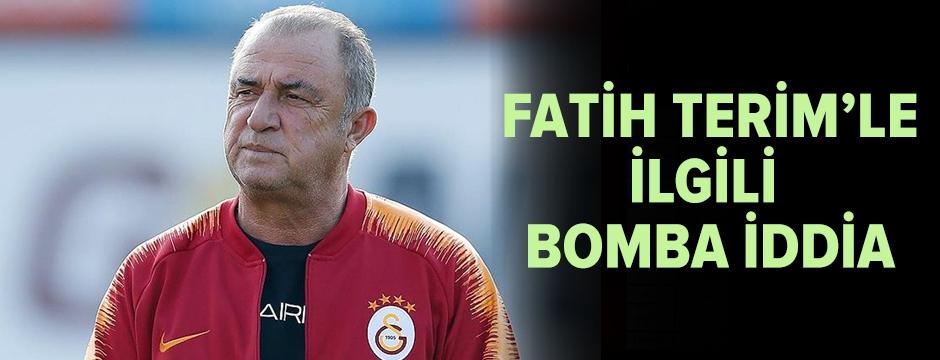 Fatih Terim'le ilgili bomba iddia!