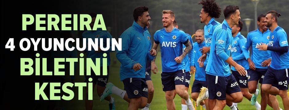 Fenerbahçe resmen açıkladı: 4 oyuncu yeni sezonda yok!