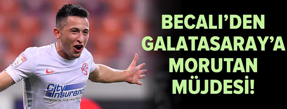 Becali'den Galatasaray'a Morutan müjdesi